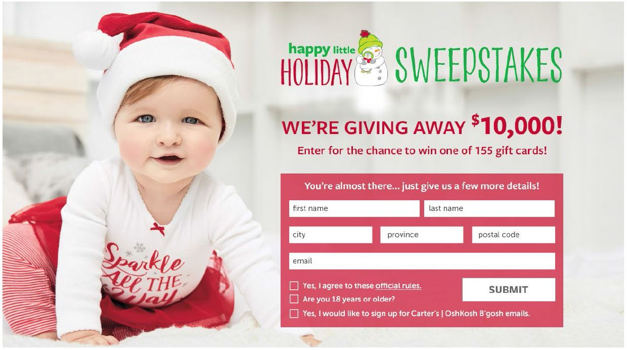 Holiday Sweeps